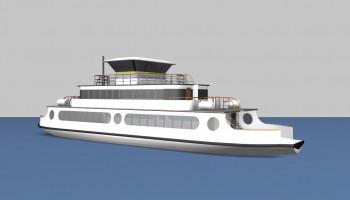 New design - Djurgården ferry