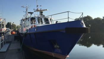 Pre-Purchase Survey of small Survey Vessel